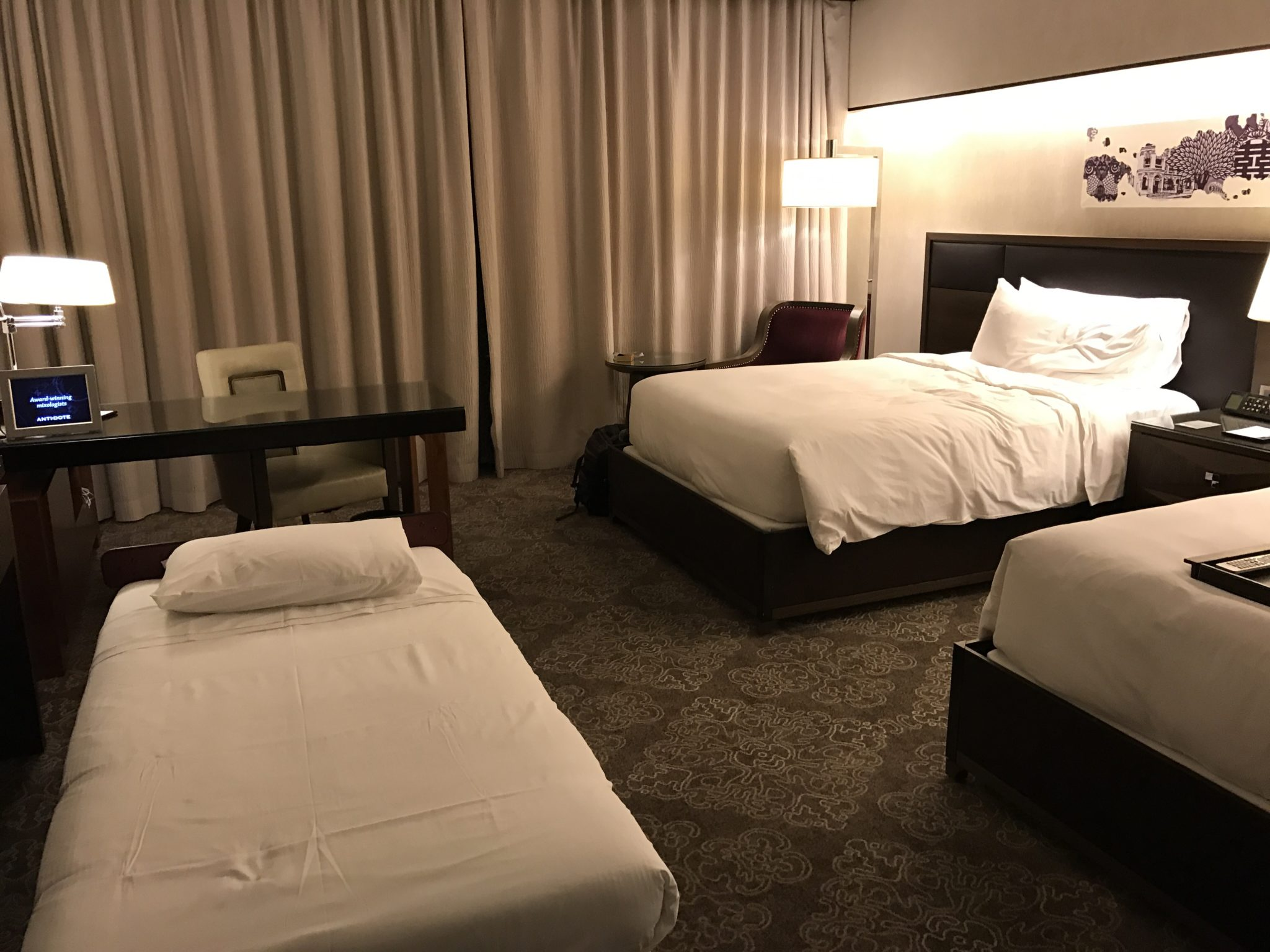 Fairmont Singapore has plenty of room for a rollaway