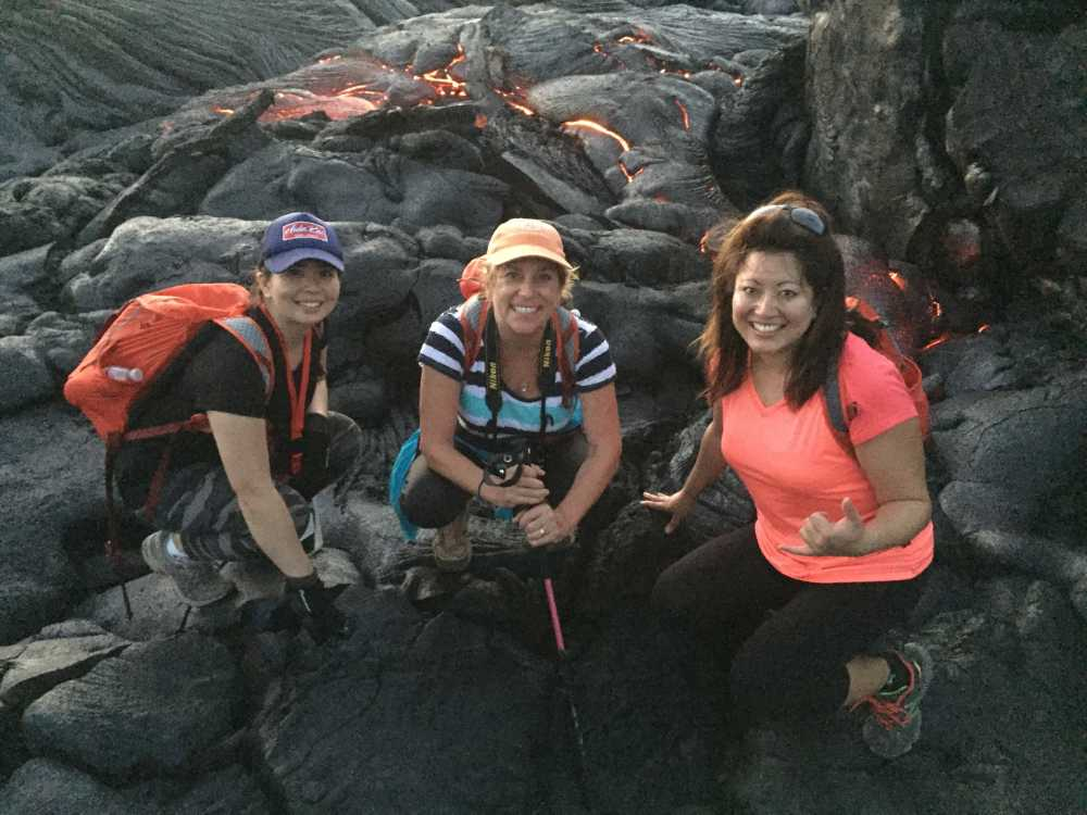Lava walks and unique hawaii island adventure tours