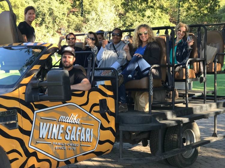 Looking for a fun , wine-infused safari on your next luxury girlfriend getaway? Malibu Wine Safaris is a great choice.