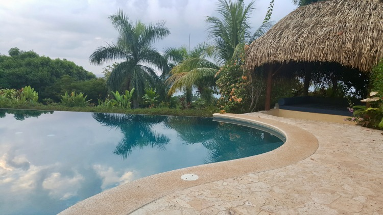 Laguna Vista Villas pool in the Osa Peninsula