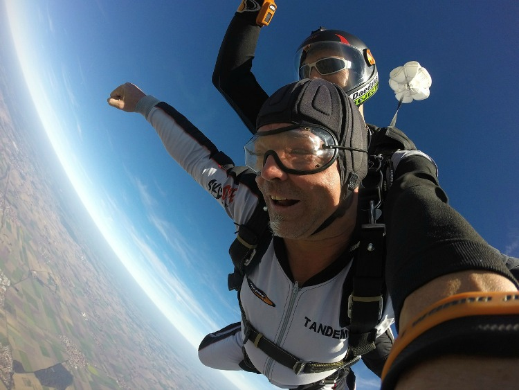 Houston Adventure includes, skydiving, if you can believe it!