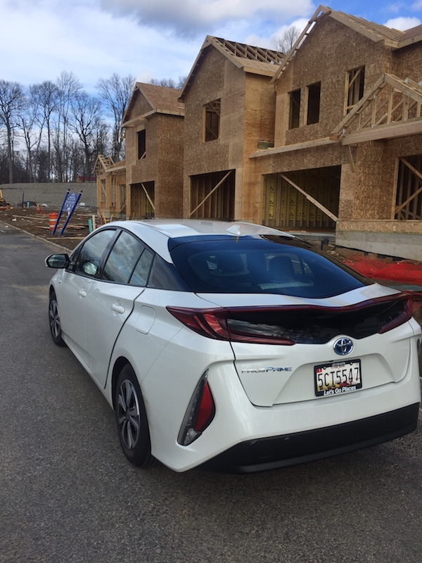The Prius prime is ideal for green travel
