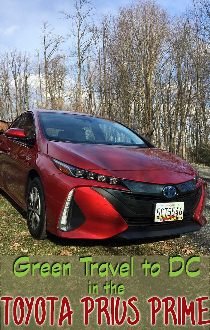 A Prius prime is perfect for green travel
