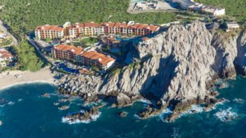 Hacienda Encantada is a family-friendly resort built into granite cliffs in Cabo San Lucas