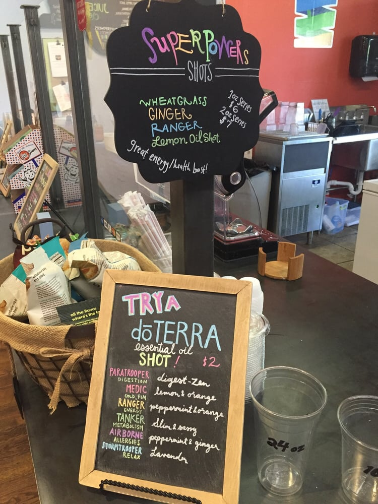 Uptown Columbus, GA is even home to a RAW food Smoothie and Juice Bar!
