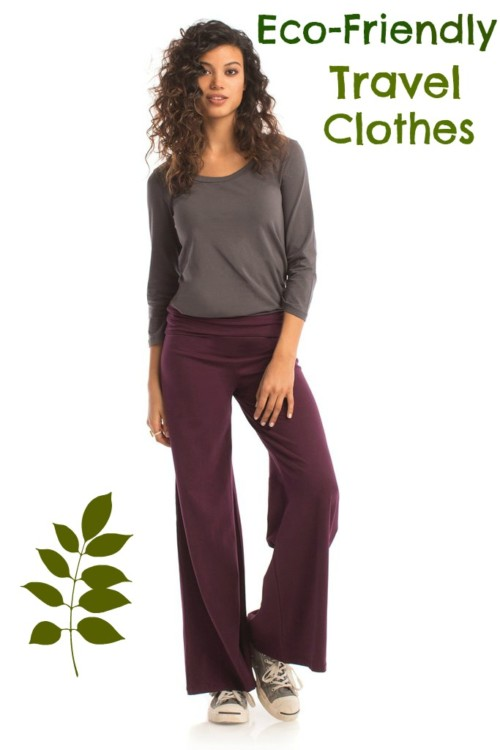 Synergy Organic Clothing makes soft cotton clothes, perfect for travel