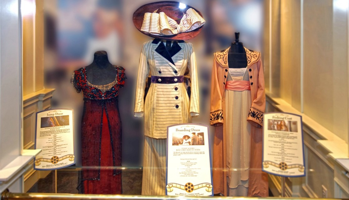 Titanic Museum Features Movie's Costumes for 20th Anniversary
