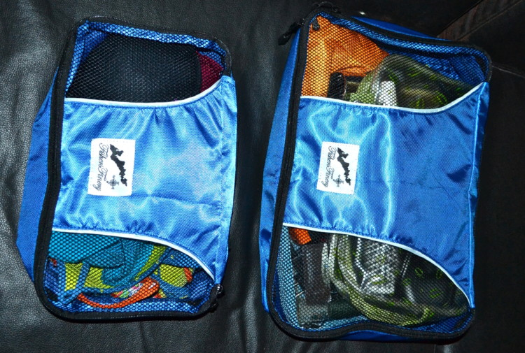 Travel Hacks for Families include packing tips, like how to use cubes.