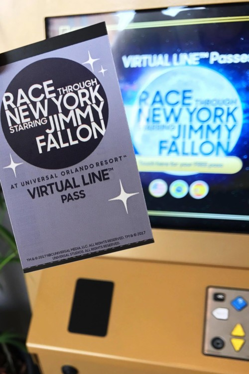 Race Through New York with Jimmy Fallon Virtual Line Pass