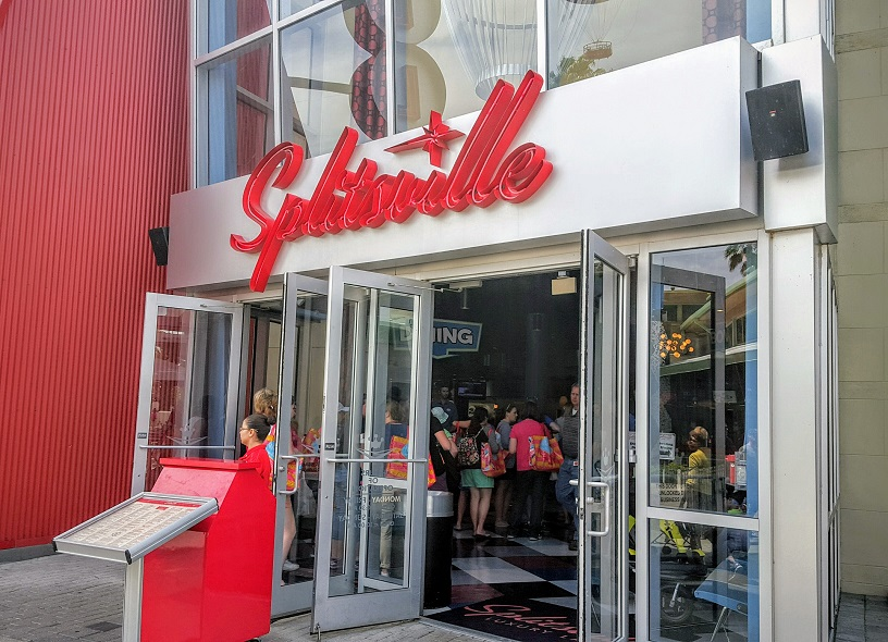 Splitsville in Disney Springs is a great place for Orlando travel deals.