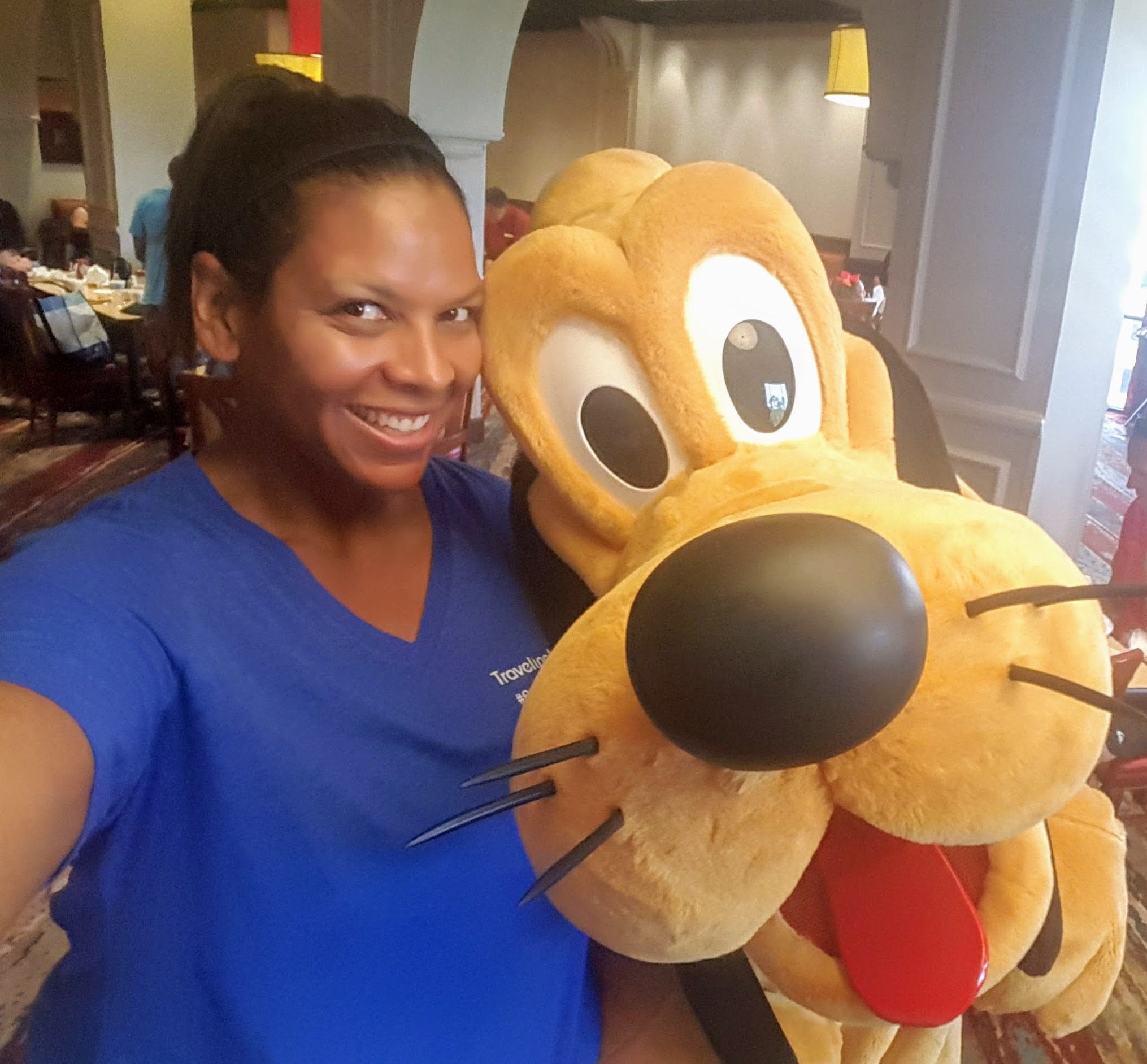 You can get quality time with characters at the Wyndham's character breakfast.