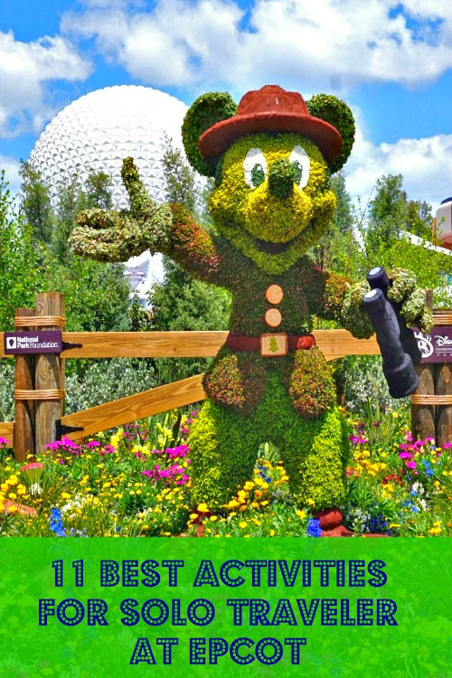 It's a lot of fun to travel solo to Disney World. Epcot is perfect for the adult Disney fan. Read on to learn what to do on your solo Disney trip.