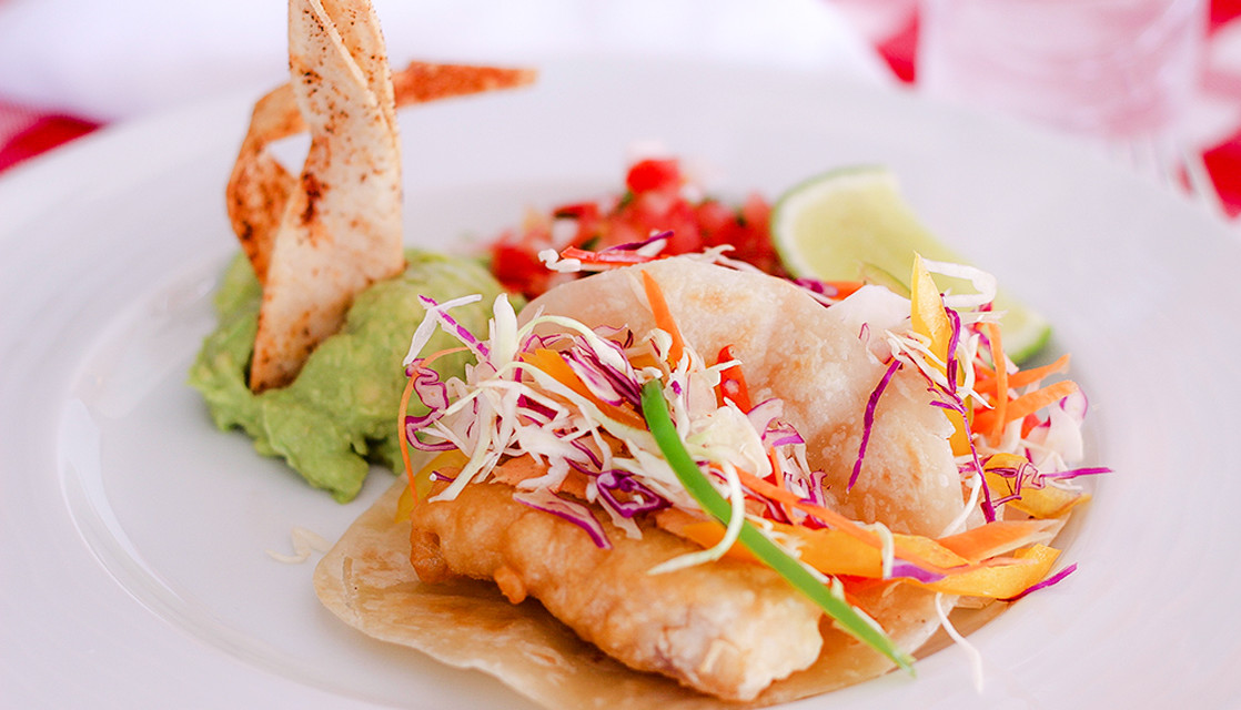Baja fish taco recipe from the hacienda encantada for Authentic fish tacos