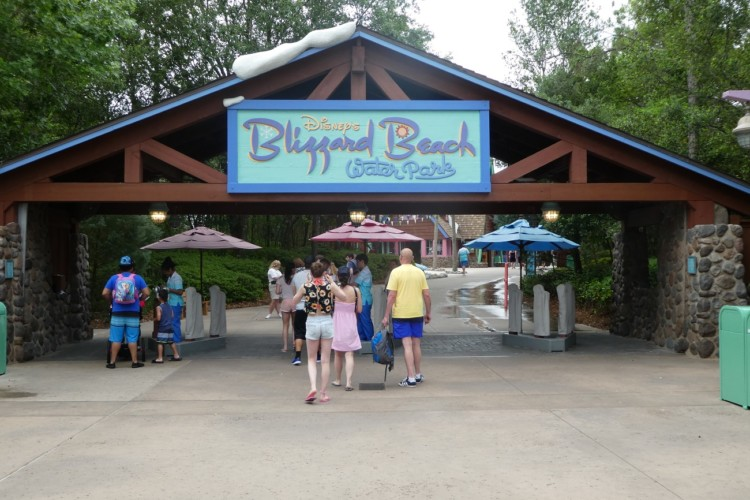 Blizzard Beach is one of two waterparks at Walt Disney World.