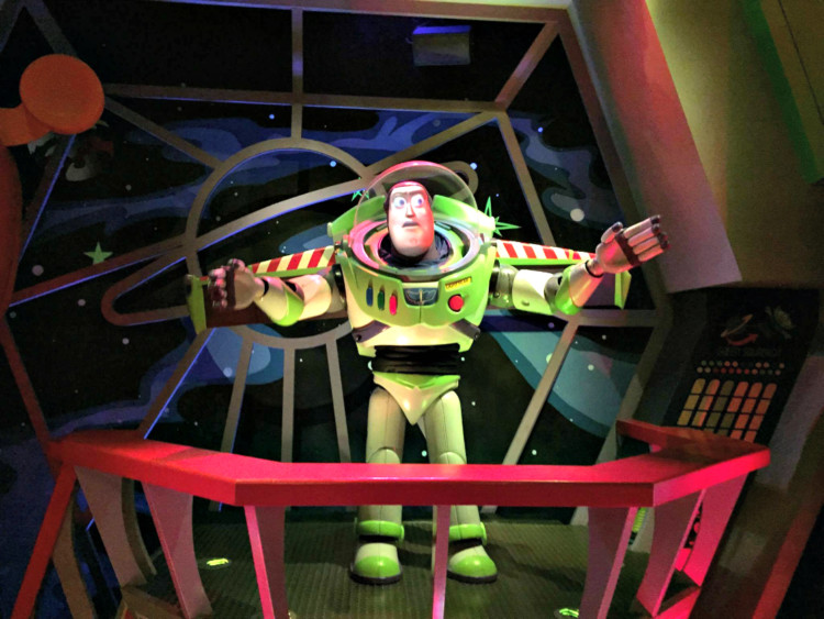Buzz Lightyear's Space Ranger Spin. 1 of 11 best Best Rides at Magic Kingdom for Toddlers