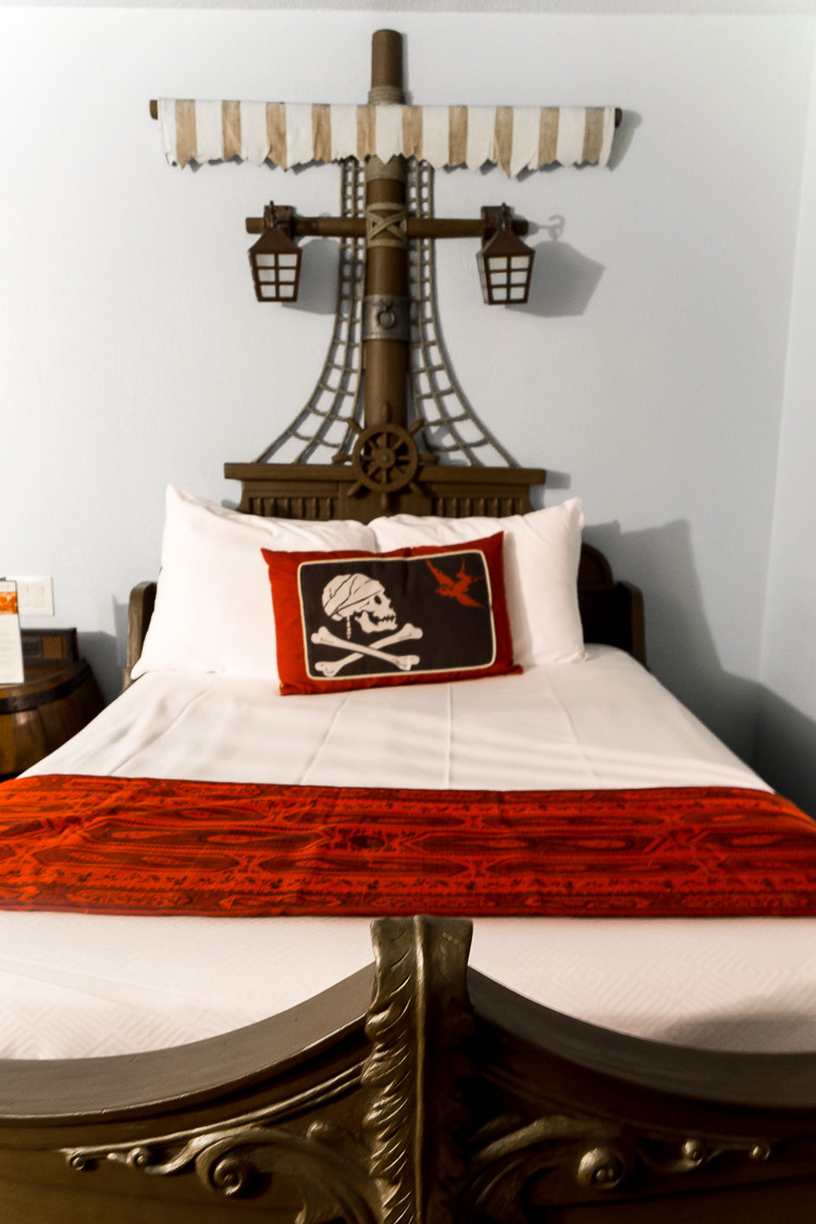 Everything you need to know about Disney's Caribbean Beach Pirate Rooms