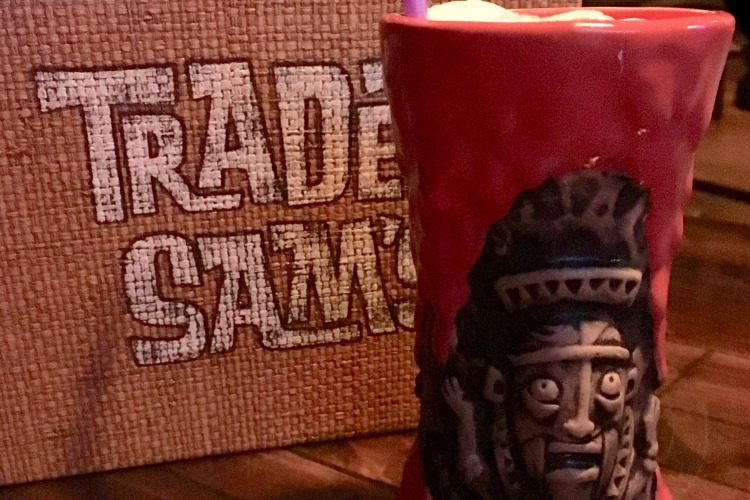 Complete Guide to Drinking at Disney World Trader Sam's Volcano Drink-Traveling Mom