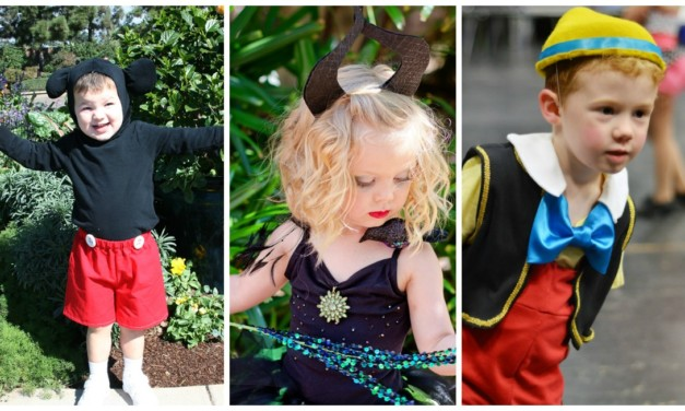 Easy DIY Disney Costumes for Preschoolers