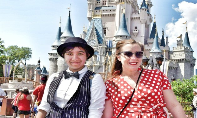 How to Be Part of Dapper Days Events at Disney Parks