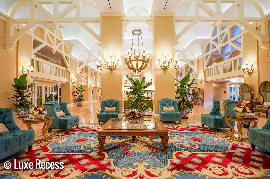 Deluxe Disney Resorts like the Beach Club are inspired by historic properties