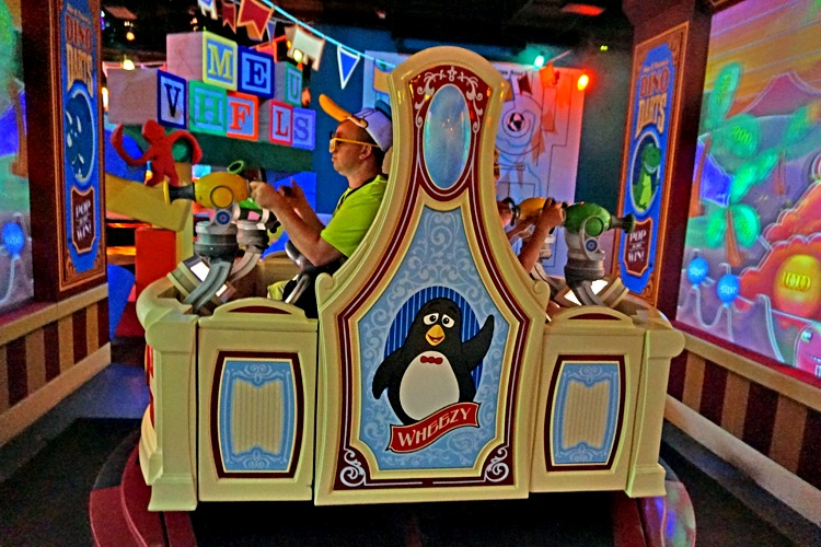 Veteran TravelingMoms itemize all the fun waiting for preschoolers at Walt Disney World's Hollywood Studios. Toy Story Midway Mania is fast paced fun, suitable for all ages.
