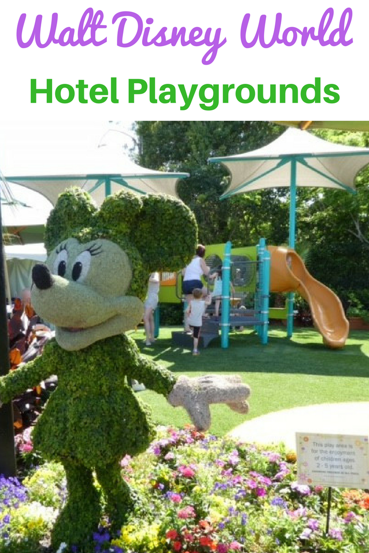 A hotel with a bonus playground is a must have for traveling with preschoolers, and we have the the scoop on all the Disney World Hotels with playgrounds.