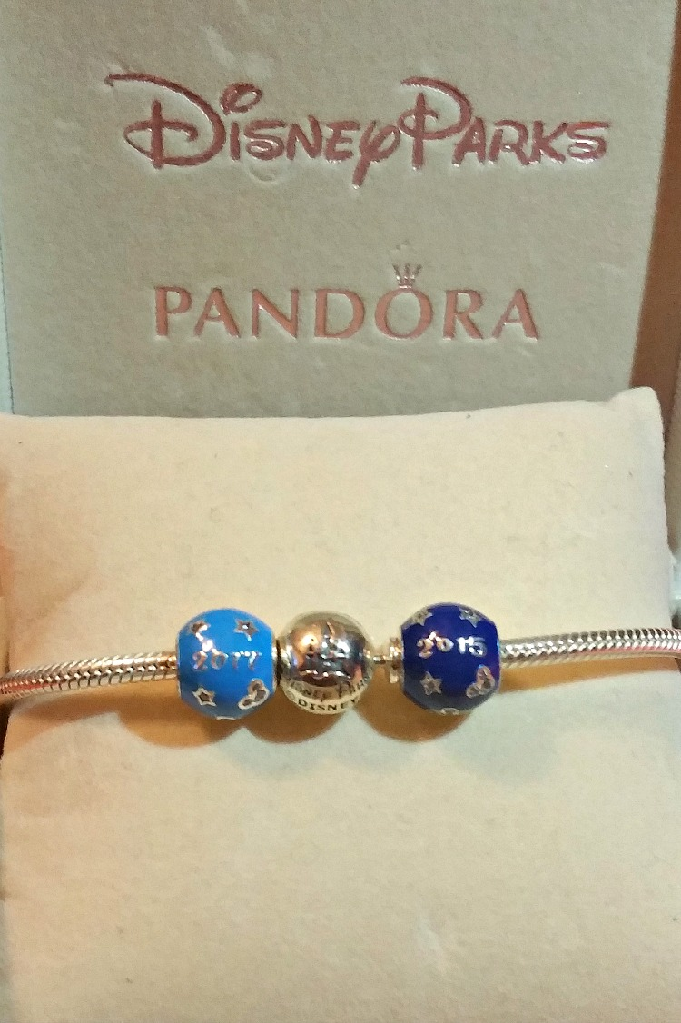 Disney jewelry like collectible Pandora charms is an awesome souvenirs to build on over time.