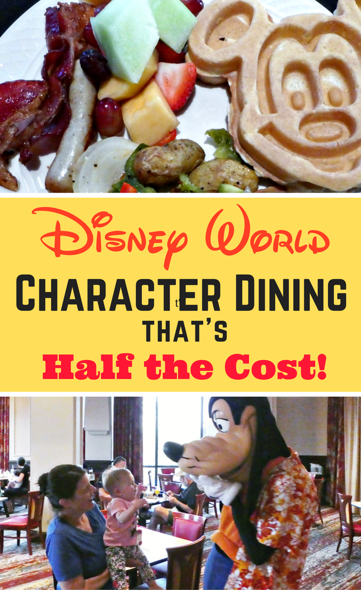 This onsite Walt Disney World location offers a character dining experience without the high cost! Find out how to do Disney dining with characters for half price.