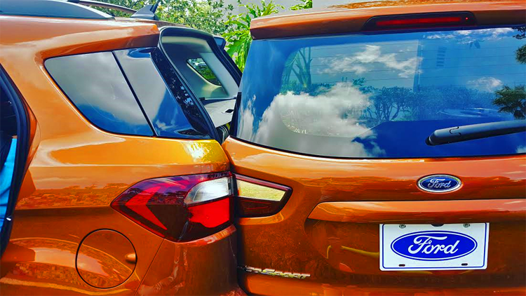 The door wide open to the future - Ford Ecosport.