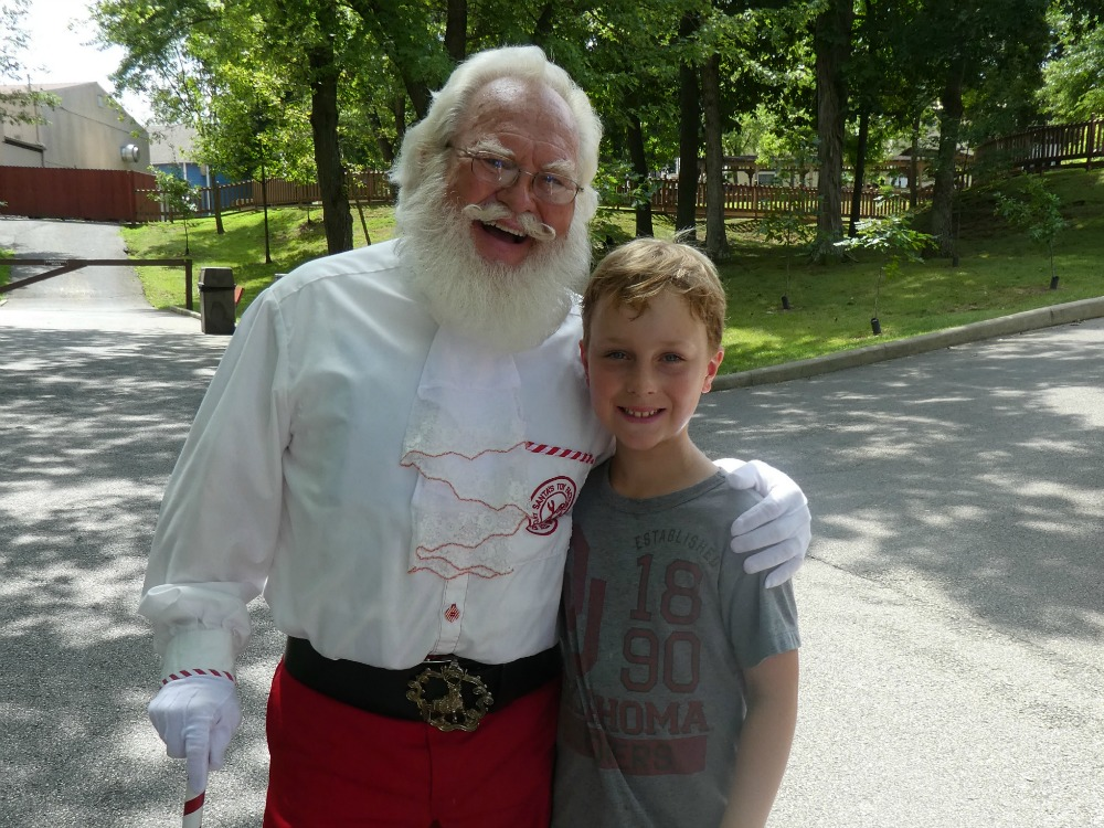 Holiday World in Indiana, Where You'll Find Santa Year Round-Traveling Mom