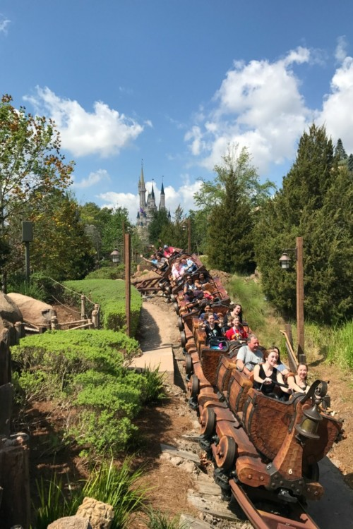 13 Things You Must Do with Teens at Walt Disney World: Ride in the Front Row of a Coaster