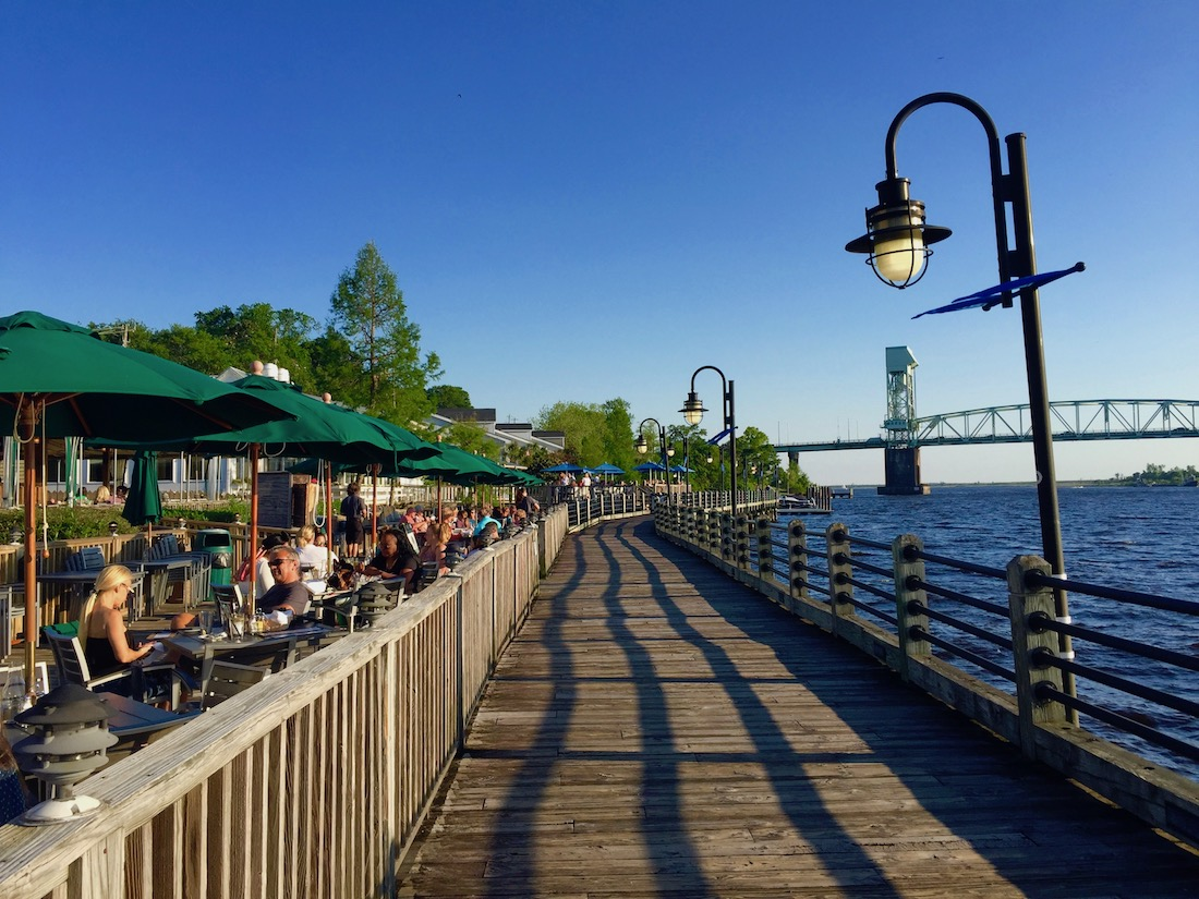 The Riverwalk was one of the best things to do in Wilmington, North Carolina