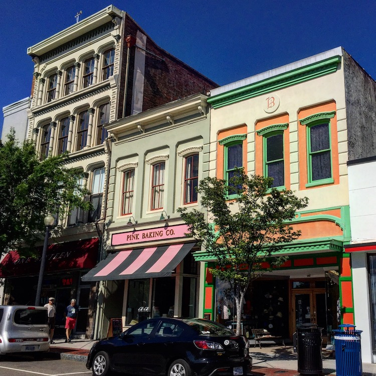Wilmington NC has a walkable downtown