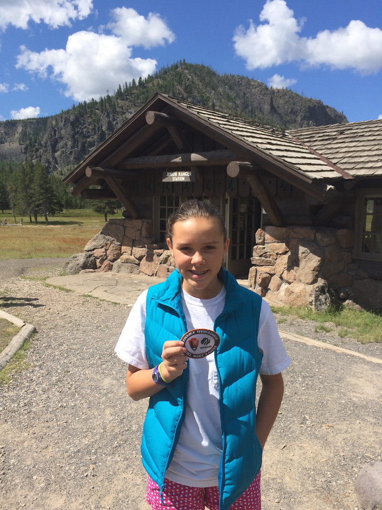 What are National Park Junior Rangers? And is there special patches for scouts?