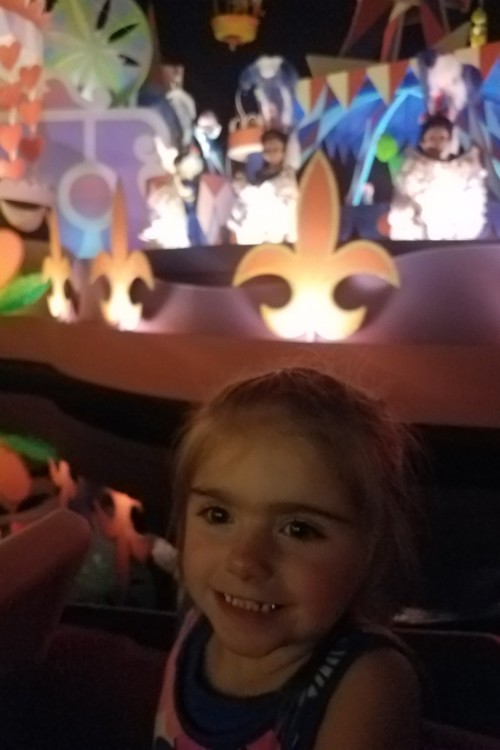 Toddlers love to sing along at It's A Small World ride at Magic Kingdom