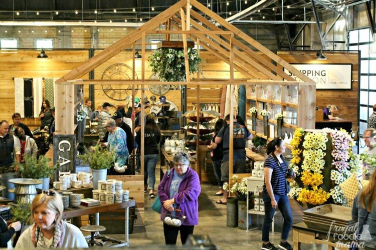 The bright and bustling shop at Magnolia Market is one of the many fun things to do in Waco.