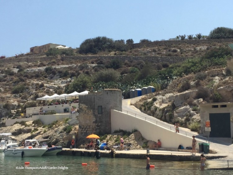7 fabulous must-see Malta beaches: Mgarr ix-Xini in Gozo is a popular local swimming cove.