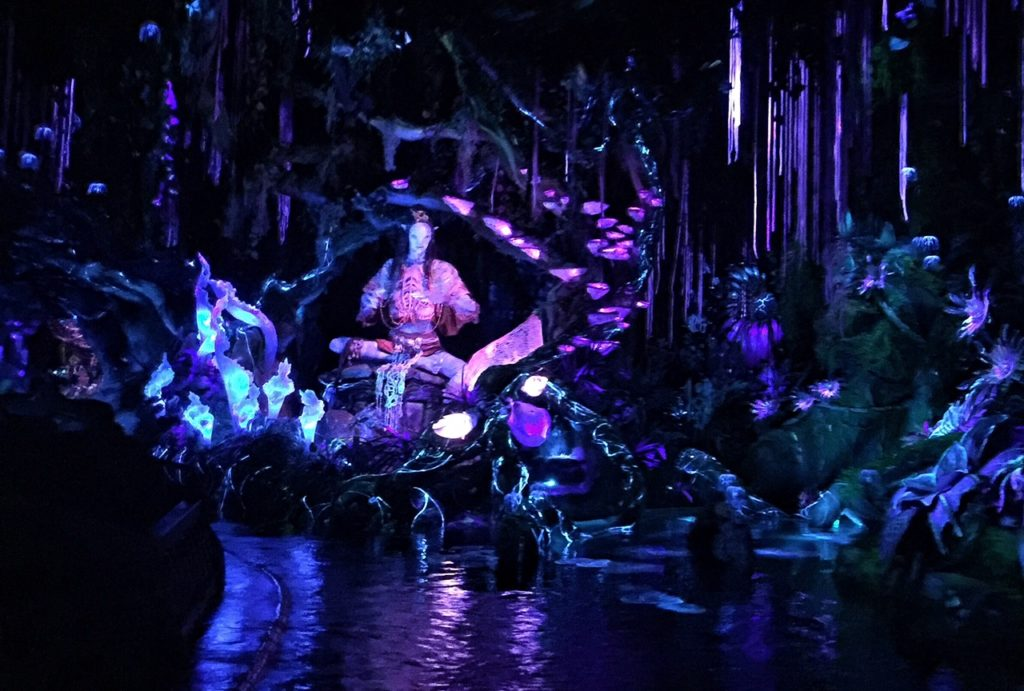 Pandora Avatar tip - don't miss the singing Na'Vi shaman at the end of the Na'Vi River Journey ride.