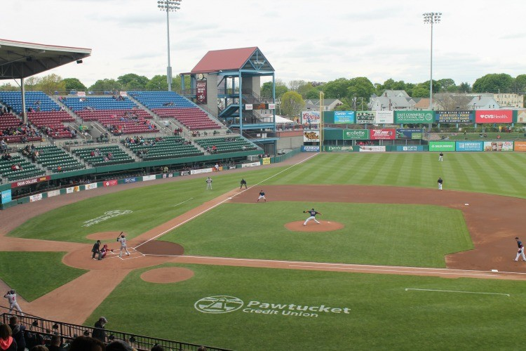 McCoy Stadium, baseball field for the PawSox.