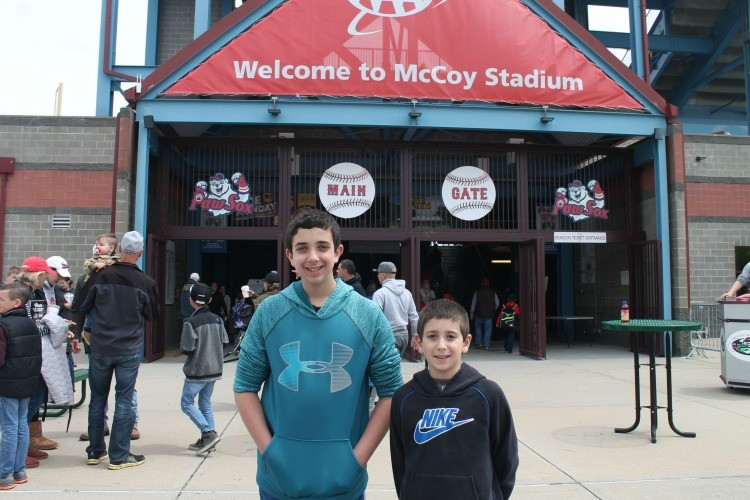 PawSox Baseball Games are perfect for an inexpensive day out in Rhode Island.