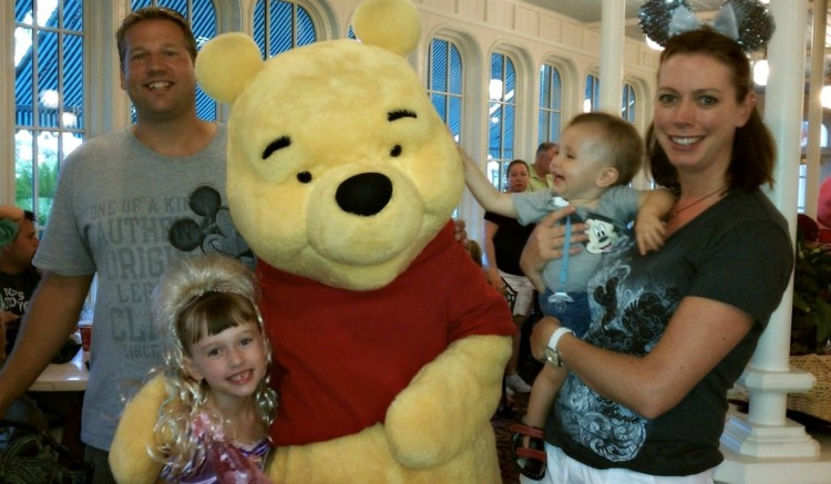 Should you wait to bring preschoolers to Disney World? My family loved our toddler trips to Disney, including character dining experiences like Crystal Palace.