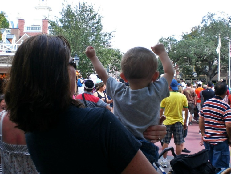 Should you wait to bring preschoolers to Disney World? Disney World for Preschoolers. My one year old son rocking the afternoon parade.