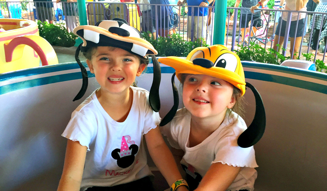 11 Best Rides at Magic Kingdom for Toddlers includethe Mad Tea Party ride.