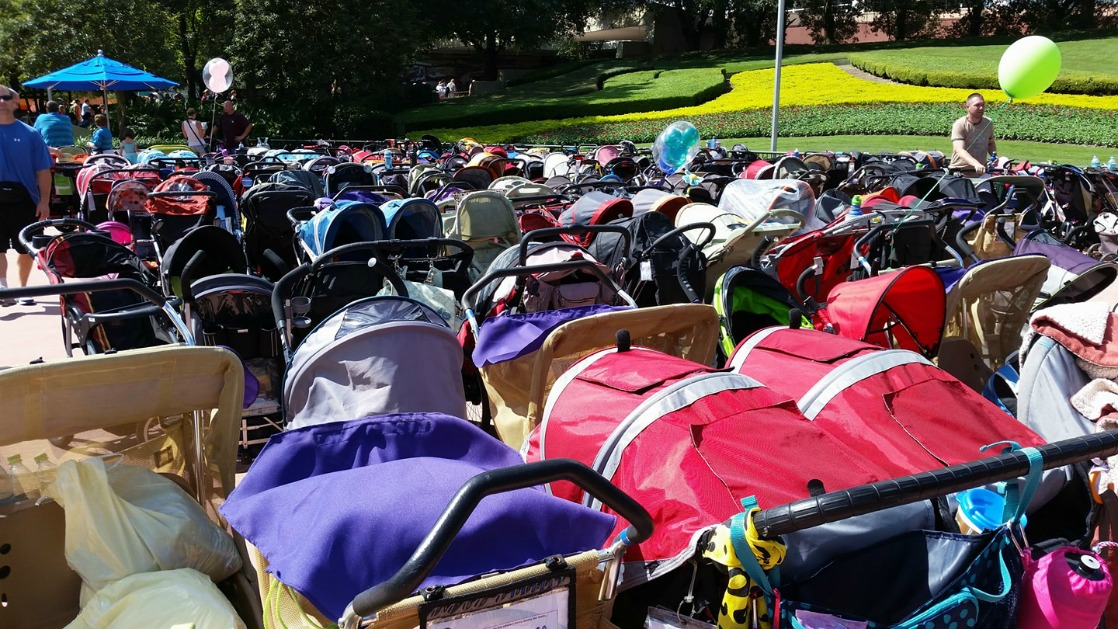 How to Make Your Strollers at Disney World Easy to Find
