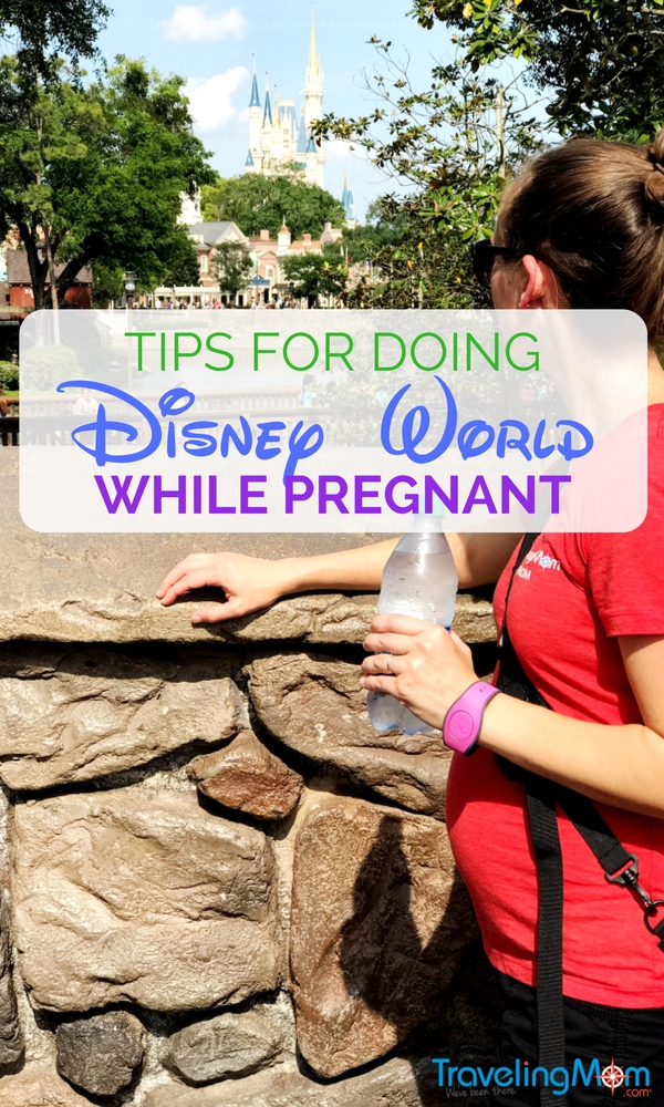 The best tips for traveling to Disney World while pregnant so you and your family can have a magical trip! Don't let kids and babies stop you from seeing Cinderella Castle!
