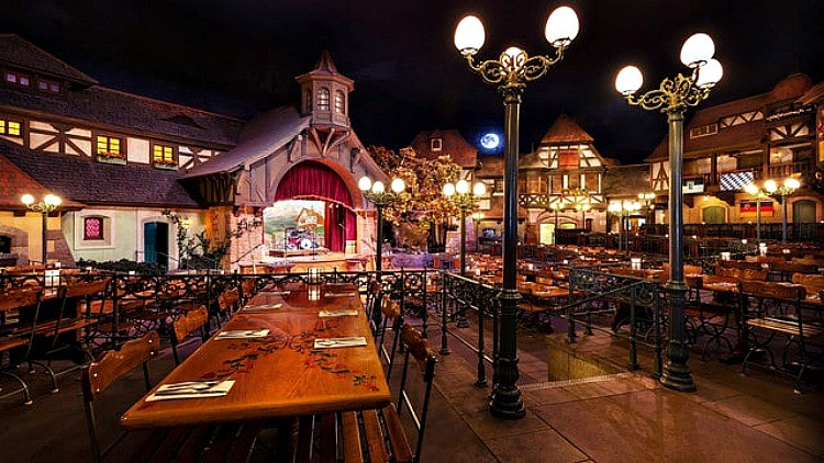 Stop by the Biergarten Restaurant when dining at Epcot - TravelingMom