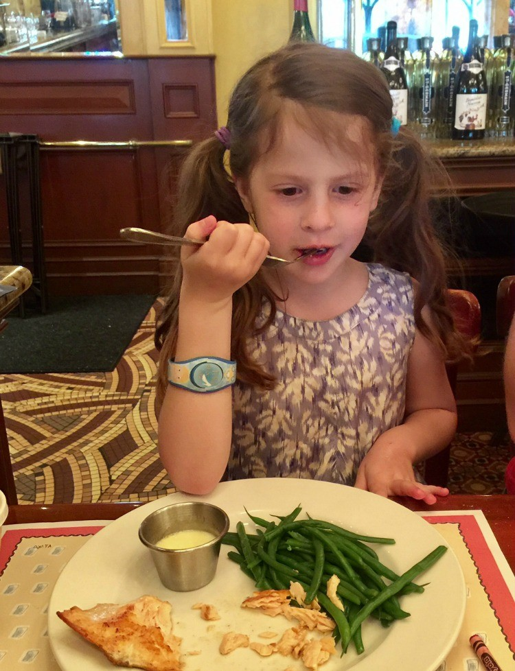 Kids love dining at Epcot especially Grown up dining at Chefs de France - TravelingMom