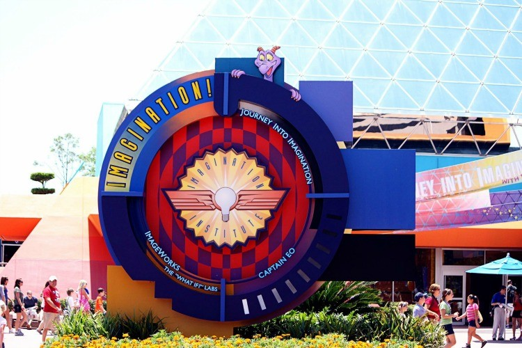 Epcot's Imagination! Pavilion is on TravelingMom's list for things to do with preschoolers at Epcot