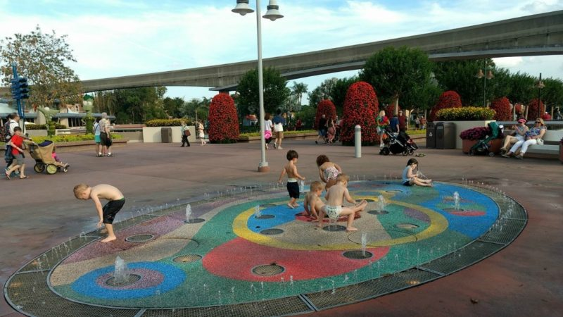 Preschoolers do have fun at Epcot!