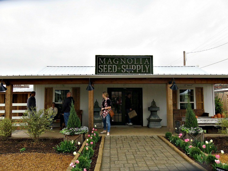 Thinking of starting a garden? Check out the Seed Supply at Magnolia Market, one of the many fun things to do in Waco.